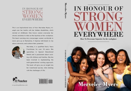 Book jacket for strong women [7175]